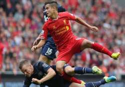 liverpool winger coutinho out until end of october