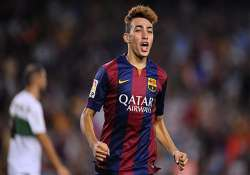 luis enrique puts stamp on new barca with munir