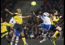 lyon comes from behind to win 3 1 at sochaux