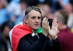 mancini agrees five year deal with city