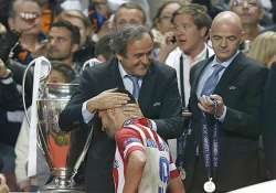 michel platini says somebody something out to hurt him