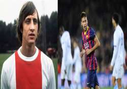 neymar wages causing barcelona friction johan cryuff