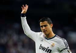 ronaldo hat trick real madrid routs deportivo 5 1