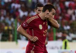 spain beats equatorial guinea 2 1 in friendly