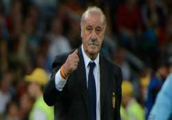 spain s soccer manager says it was a deserved defeat
