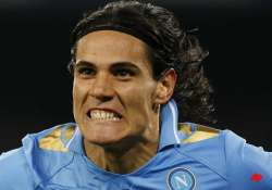 wanted striker cavani happy to stay at napoli