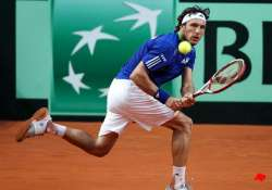 argentina takes 1 0 lead over germany in davis cup