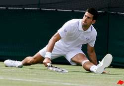 djokovic inspired at wimbledon by squirrely friend