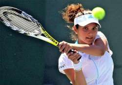 sania mirza a win away from becoming world no.1 doubles