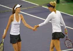 sony open martina hingis wins 1st doubles title since 2007