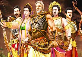 mahabharat 3d movie review animation arrested -...