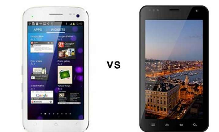comparison micromax canvas ii vs karbonn a30