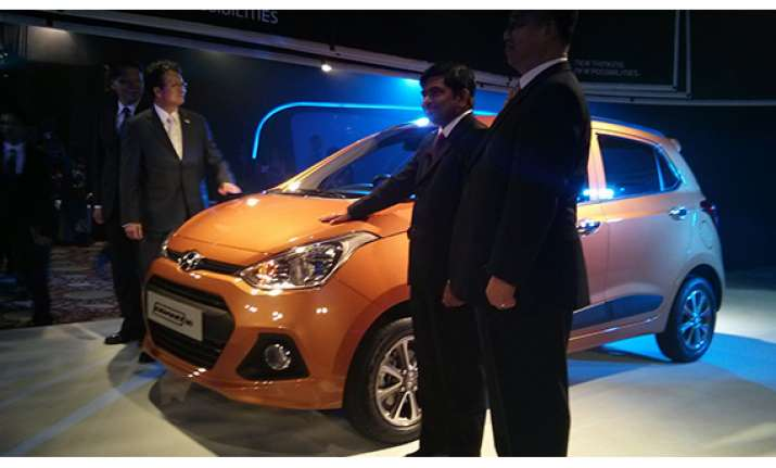 hyundai launches grand i10 in india for rs 4.29 lakh