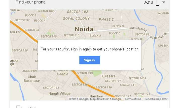 lost your smartphone now just google to find it