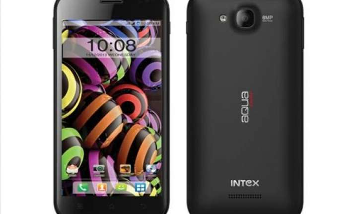 intex launches aqua curve with 5 inch qhd display