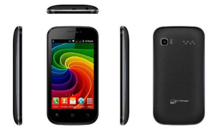 micromax launches bolt a35 android phone at rs 4 250