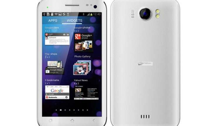 micromax s canvas ii a110 tops the list for most searched