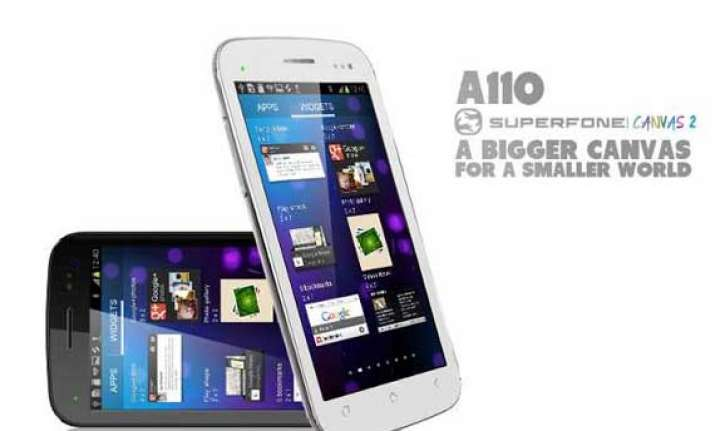micromax canvas 2 a110 now available for rs 9 999