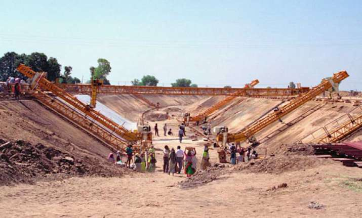 narmada to saurashtra branch canal work to be over by 2016