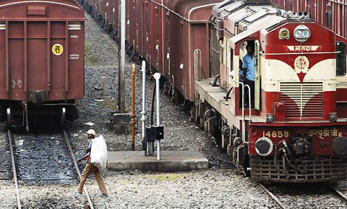 railways expect 30 pc growth in freight revenues in fy 13