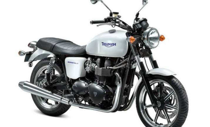 Triumph Officially Enters Indian Bike Market