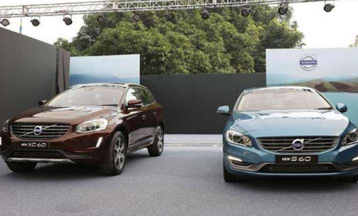 volvo launches new s60 xc60 versions priced up to rs lakh. Black Bedroom Furniture Sets. Home Design Ideas