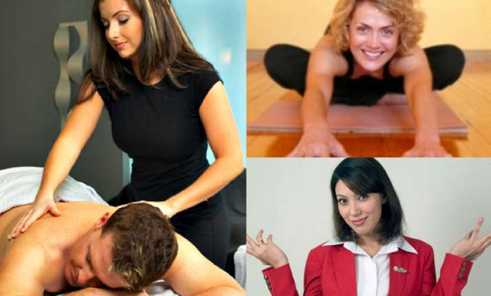 5 hottest female professions