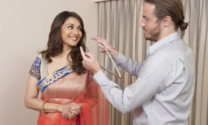 and now madhuri in wax at madame tussauds london
