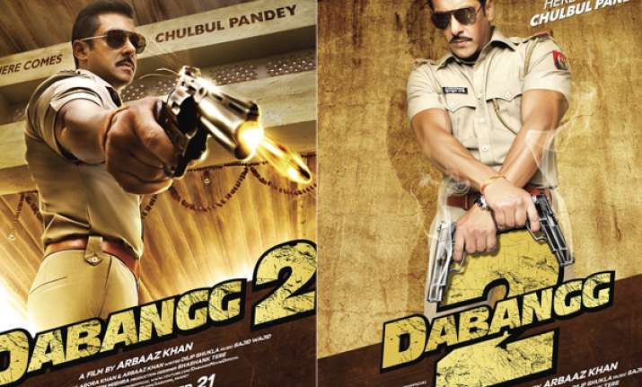 dabangg 2 first look out