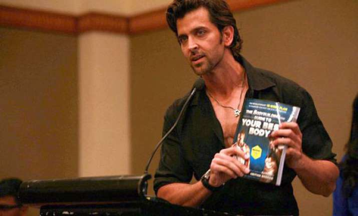 hrithik roshan releases book guide to your best body view