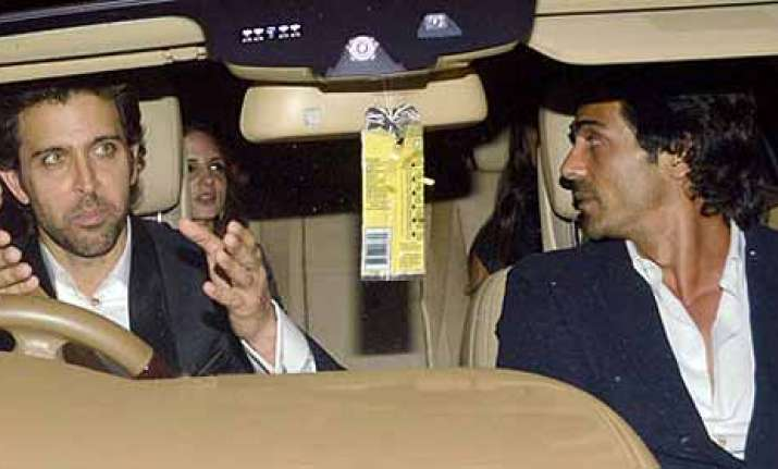 hrithik suzanne divorce is suzanne having an affair with