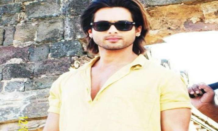 i am here to create my own identity says shahid