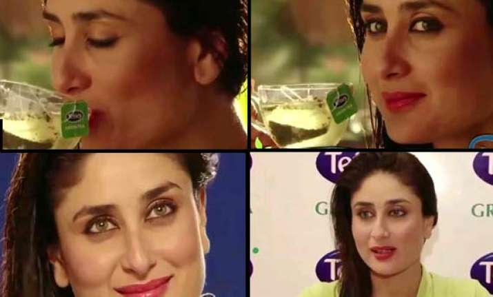 kareena kapoor becomes the face of tetley tea watch ad