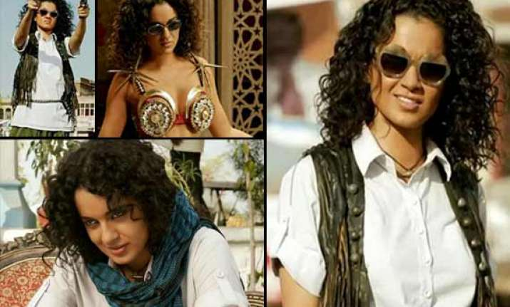 queen kangana ranaut turns lady dabangg in revolver rani