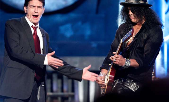 charlie sheen recalls doing cocaine with slash
