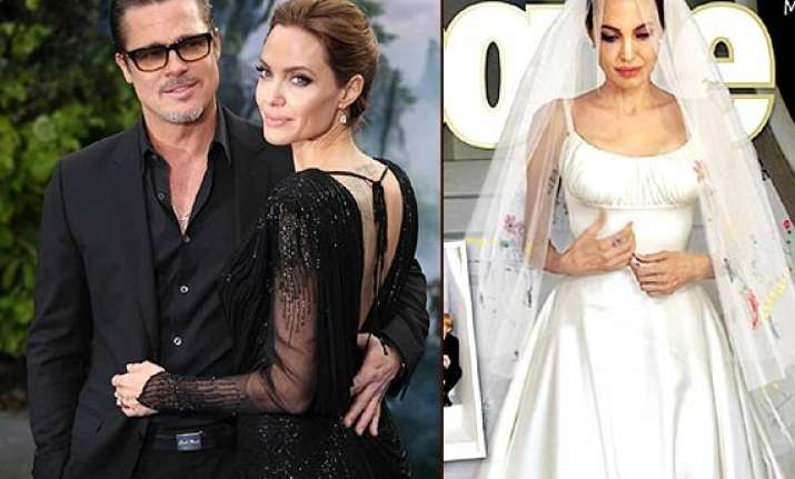 Angelina Jolie-Brad Pitt Wedding: First Pictures Revealed