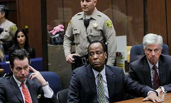 michael jackson s former personal physician pleads not