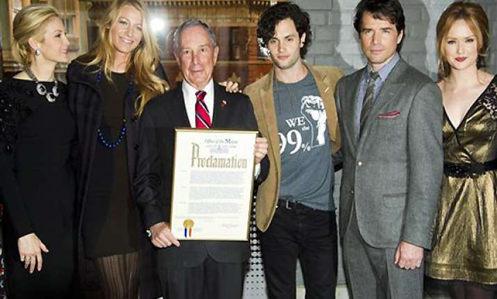 mayor bloomberg proclaims jan 26 as gossip girl day in new