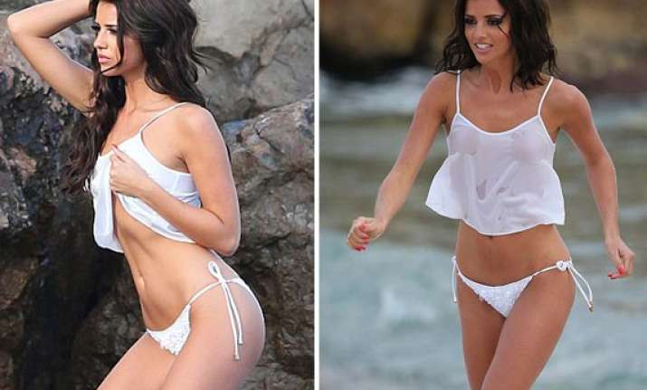 english actress lucy mecklenburgh goes nude for a