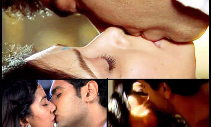 hottest kisses on indian television