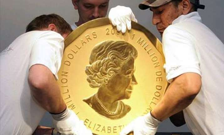 world s biggest gold coin auctioned for 2.68m