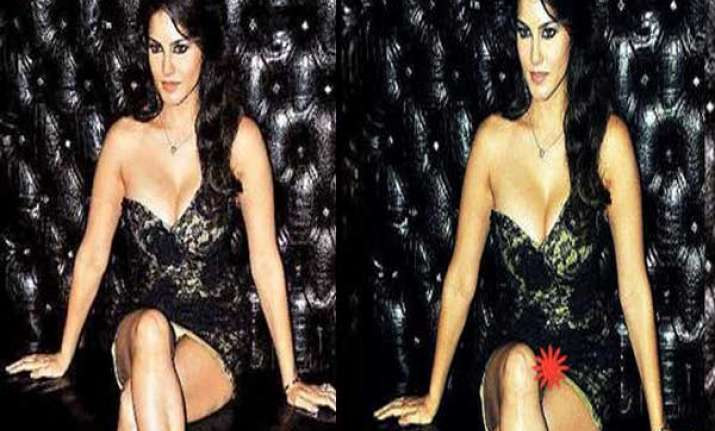 sunny leone s shocking wardrobe malfunction