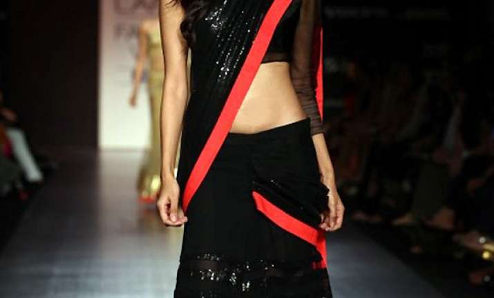 forget pleats pallu try concept saris see pics