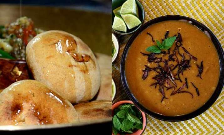 From Litti Chokha To Haleem Mouth Watering Foods Of Year 2014 See Pics