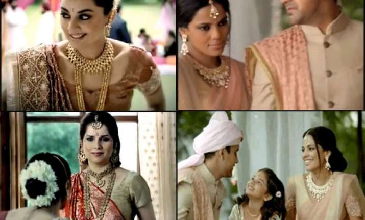 not tanishq but femina was the first brand to show