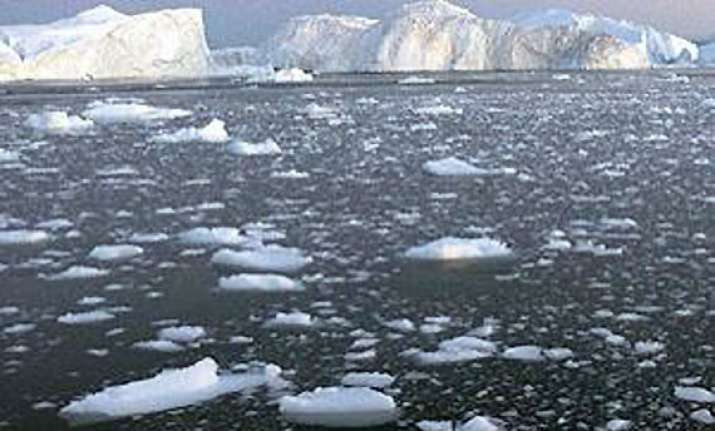 arctic ice shrinks to all time low half 1980 size