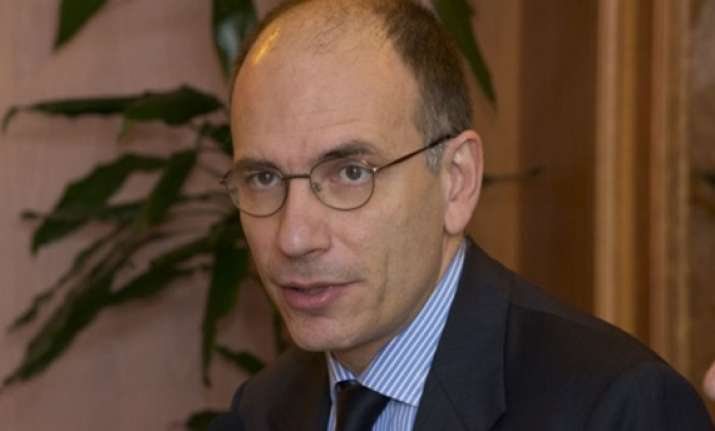 enrico letta is italy s new pm