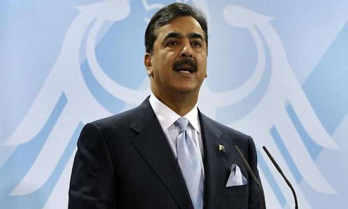 gilani denies his government approved us drone strikes
