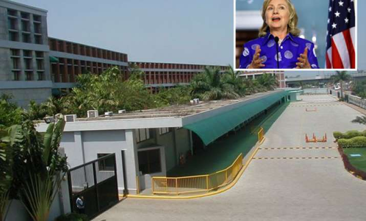 hillary clinton to visit ford factory in chennai