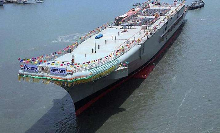 india s aircraft carrier ins vikrant a threat chinese media